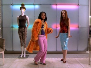 "London Tipton wasn't Brenda Song's first time playing a fashionable kid on Disney Channel. Here, she plays the hip Jennifer alongside Lindsay Lohan (Lexy) in ""Get a Clue."""