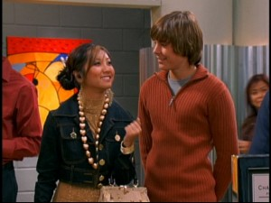 "One of many ""Suite Life"" guest stars, ""High School Musical"" star Zac Efron played Brenda Song's unlikely love interest in one episode."