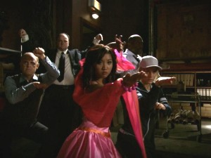 As Wendy Wu, Brenda Song (and her posse) is fully prepared to kick butt.