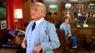 Ted Knight's stuffed shirt Judge Elihu Smails is inevitably the villain of this anarchic comedy, whom Danny must schmooze in hopes of getting a caddy scholarship.
