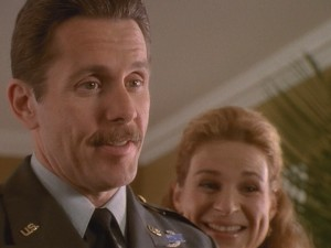 "Gary Cole (""Office Space"", ""The Brady Bunch Movie"") plays Kelly's stepfather, a general who works at her new boarding school."