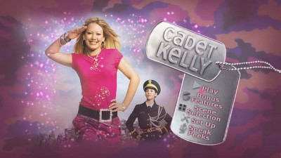"""Cadet Kelly""'s main menu features music, but no animation."