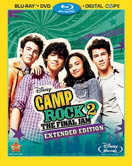 Camp Rock 2: The Final Jam Blu-ray + DVD Combo Pack cover art -- Click to buy from Amazon.com
