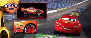 Lightning McQueen is a precision instrument of speed and aerodynamics.