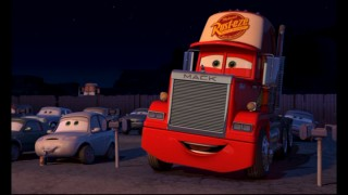 In the Epilogue, Lightning's transporting truck Mack (voiced by Pixar good luck charm John Ratzenberger) appreciates the voice work of one recurringly-employed actor. Any guess at who this amusing sequence pays tribute to?