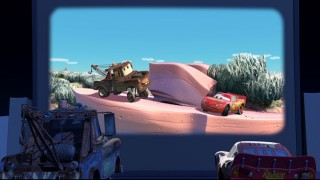 "If you're patient enough, you're bound to find this fun little Easter Egg which puts Mater and Lightning inside of Pixar's musical short ""Boundin'."""