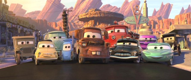 The residents of Radiator Springs invite you to come visit them anytime.