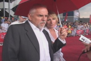 "Pixar's good luck charm John Ratzenberger, who voices Mack (a Mack truck) in ""Cars."""