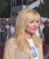 Bonnie Hunt, who voices the sleek blue Porsche Sally.