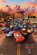 Cars cast one-sheet movie poster