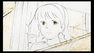 Sheeta appears in rough sketch form in Disc 2's full storyboard presentation of the film.