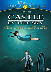 Castle in the Sky: 2010 DVD cover art - click to buy from Amazon.com