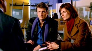 "The crime-solving author-detective team of Castle (Nathan Fillion) and Beckett (Stana Katic) ask the right questions in ""Hell Hath No Fury."""