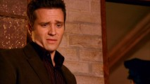 "Seamus Dever delivers some alternate one-liners in the bloopers/outtakes reel ""Misdemeanors."""