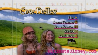 """Cow Belles"" Main Menu"