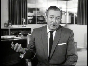 Walt Disney talks oh so briefly about the disc's two featured films in an under 2-minute CBC interview excerpt.
