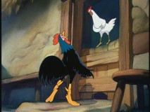 "A hen and chicken sing the best Verdi they can in ""Farmyard Symphony."""
