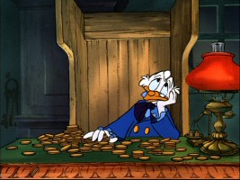 "After counting the coins, this Disney executive decides against including ""The Making of 'Mickey's Christmas Carol'."""
