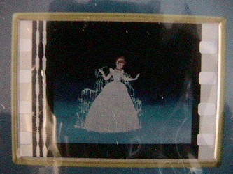 Look closer and you'll see Cinderella is being transformed in the film frame.