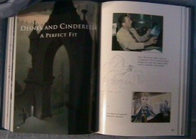 "A look inside at the second making-of section, ""Disney and Cinderella: A Perfect Fit."""