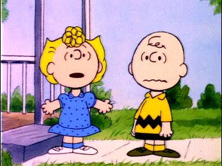 "Sally Brown vows to sue Linus after he stands her up on the movie date he never agreed to and moves out of town in ""Is This Goodbye, Charlie Brown?"""