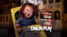 Chucky strikes a killer pose for the static main menu of his 20th Birthday Edition DVD.