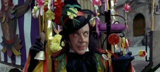 He may be waving lots of pretty flowers and candy about, but is the Child Catcher (Robert Helpmann) really someone you would trust with your kid?