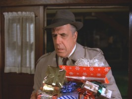 Fred Gwynne plays Waters, a police detective who's not too thrilled about working on his first Christmas off in six years.