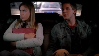 Presidential twins Rebecca (Caitlin Wachs) and Horace (Matt Lanter) get used to increased attention in a dramatic drive to high school.