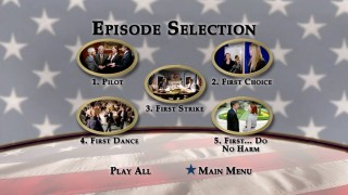 Disc 1's basic Episode Selection menu.