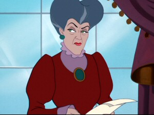 Lady Tremaine is one bad woman. What was Cinderella's dad thinking?!