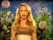 "Hayden Panettiere sings ""I Still Believe"" on the Cinderella III DVD."