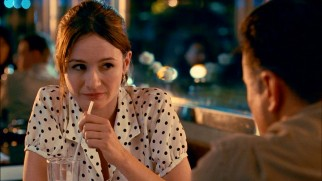 Acting class partner and confidante Molly Charlesworth (Emily Mortimer) harbors a head-scratcher of a secret throughout the film.