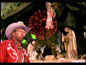 "Country singer Toby Keith argues against the War on Christmas in his song ""Have I Got a Present For You."""