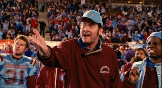 In a rare starring role, ubiquitous comedic actor David Koechner plays Lambeau Fields, an animated coach with a terrible track record and unorthodox methods.