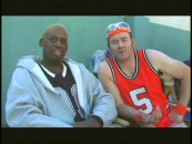 "Castmates and kindred fortysomethings Dennis Rodman and Dennis Koechner share a short chat in ""A Laugh Of Their Own."""