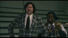 Lambeau Fields channels Kurt Russell as Herb Brooks (with iPod still at side) in this extended ice rink scene.