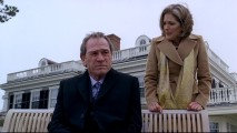 A deleted scene further shows that Gene (Tommy Lee Jones) no longer has his heart in his marriage to the materialistic Cynthia (Patricia Kalember).
