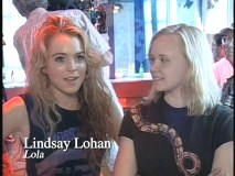 "Lindsay Lohan and Alison Pill in ""Confessions from the Set"""
