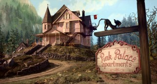 "Three-unit house Pink Palace Apartments is the setting for ""Coraline"" and the site of the eponymous heroine's interdimensional vortex."