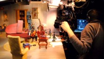 "Giant filmmakers or tiny puppets? Watch the ""It's Alive"" portion of Disc 2's documentary to find out and see stop motion animation come to life."
