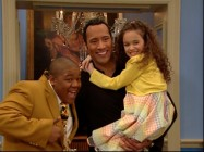 "The Rock loves children in ""Rock in the House."""