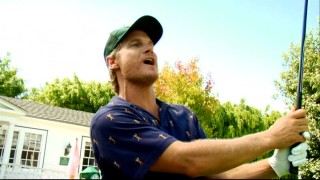 "Bobby Cobb (Brian Van Holt) dispatches golfing advice like only he can in the web series ""Stroking It with Bobby Cobb."""