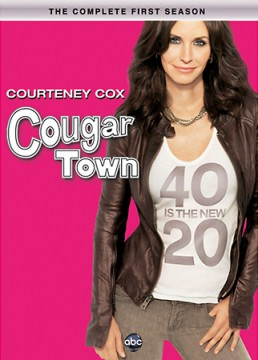 Cougar Town: The Complete First Season DVD cover art - buy from Amazon.com