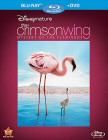 The Crimson Wing: Mystery of the Flamingos Blu-ray Disc + DVD cover art