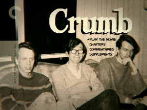 The Crumb brothers share the couch in the old photo featured on The Criterion Collection DVD's main menu.