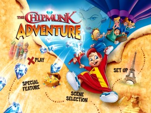 The recycled main menu reflects the cover artwork employed for the movie's 2006 DVD debut.