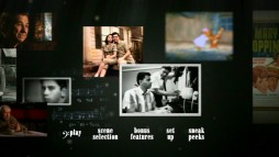 "Sherman Brothers film clips and personal photos float by on ""The Boys"" DVD main menu."