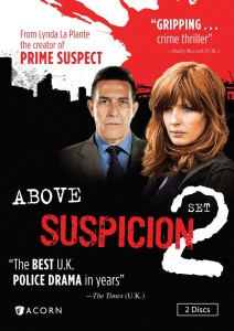 Above Suspicion: Set 2 DVD cover art -- click to buy from Amazon.com
