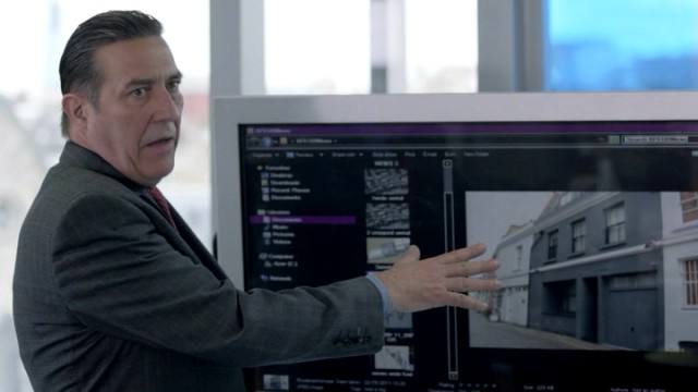 Even the tech-illiterate DCI James Langton (Ciarán Hinds) recognizes the importance of securing closed circuit television tapes of the crime scene.